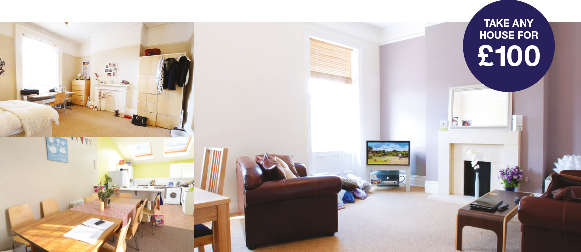 Great houses. High quality, great value student accommodation