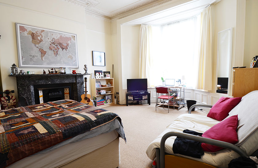 Affordable student accomodation Chester Crescent in Heaton, Newcastle upon Tyne
