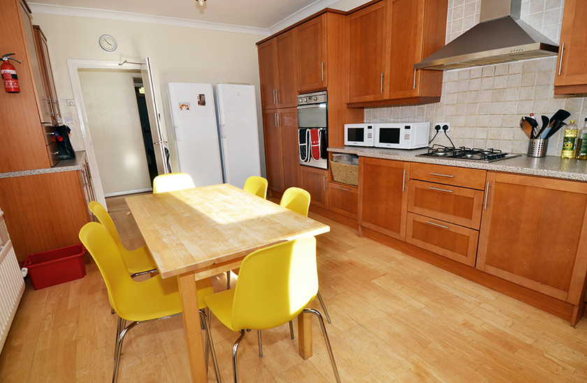 Fantastic student accommodation Chester Crescent in Shieldfield, Newcastle upon Tyne