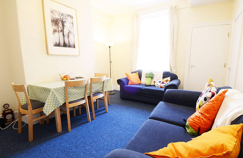 Reasonably priced student accommodation Falmouth Road  in Shieldfield, Newcastle upon Tyne