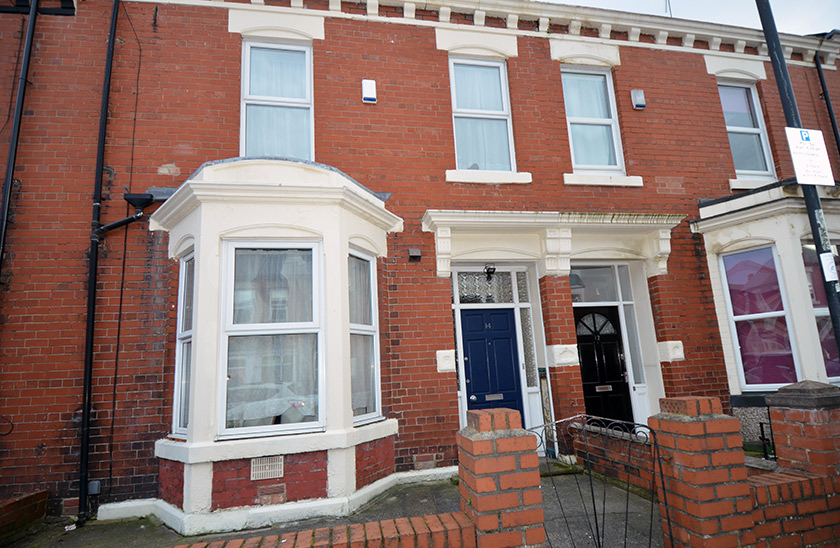 Affordable student accommodation Warton Terrace in Heaton, Newcastle upon Tyne