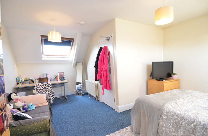 Reasonably priced student accommodation Cardigan Terrace in Heaton, Newcastle upon Tyne