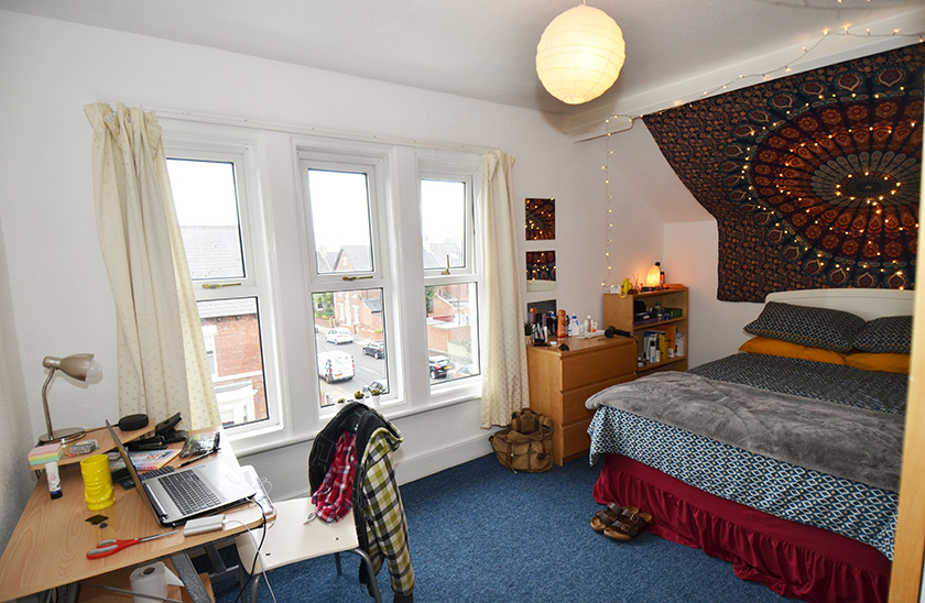 Affordable student accommodation Heaton Hall Road, Newcastle in Shieldfield, Newcastle upon Tyne
