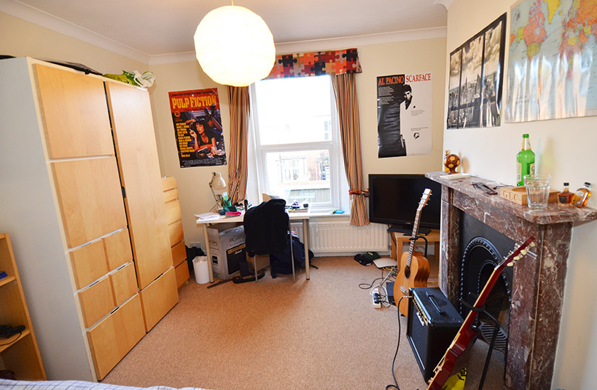 Affordable student accommodation St George's Terrace in Jesmond, Newcastle upon Tyne