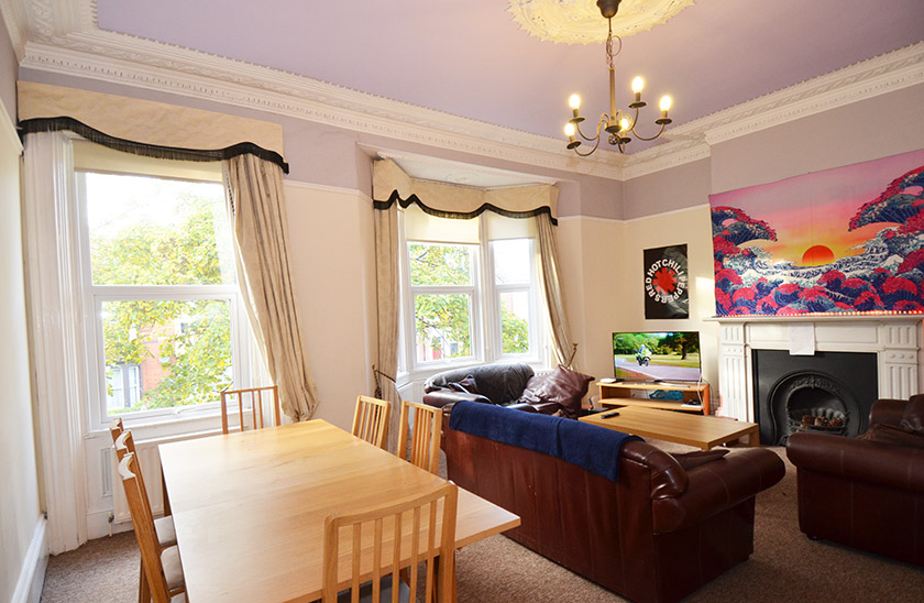 Affordable student accommodation St George's Terrace in Newcastle