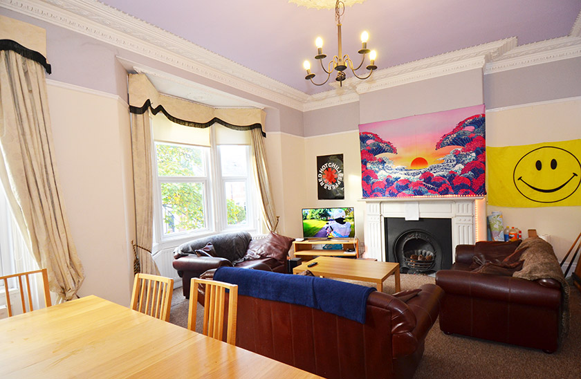 Affordable student accommodation St George's Terrace in Shieldfield, Newcastle upon Tyne