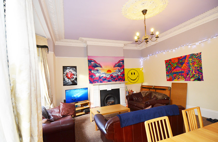 Fantastic student accommodation St George's Terrace in Jesmond, Newcastle upon Tyne