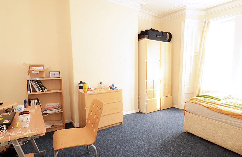 Reasonably priced student accommodation Cardigan Terrace in Shieldfield, Newcastle upon Tyne
