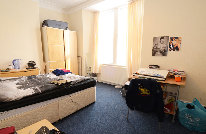 Fantastic student accommodation Cardigan Terrace in Jesmond, Newcastle upon Tyne