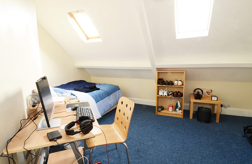 Affordable student accomodation Cardigan Terrace in Shieldfield, Newcastle upon Tyne