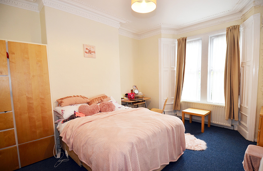 Fantastic student accommodation Cardigan Terrace in Shieldfield, Newcastle upon Tyne