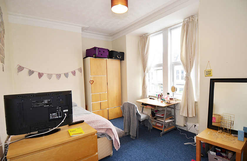 Fantastic student accommodation Cardigan Terrace in Newcastle