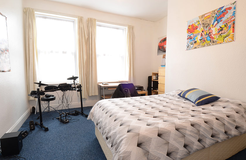 Affordable student accommodation King John Terrace in Jesmond, Newcastle upon Tyne
