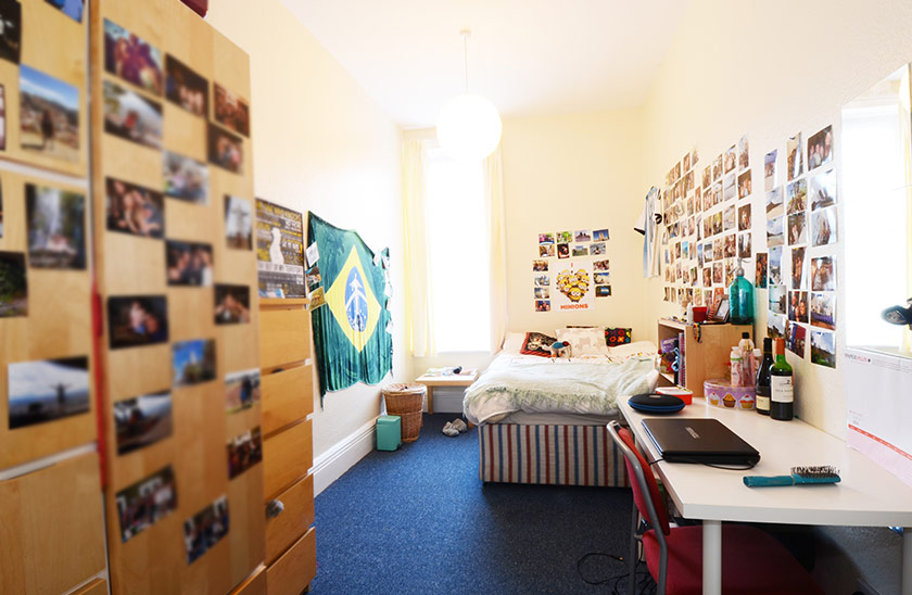 Fantastic student accommodation Rothbury Terrace in Jesmond, Newcastle upon Tyne