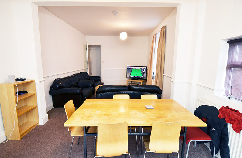 Fantastic student accommodation Rothbury Terrace in Shieldfield, Newcastle upon Tyne