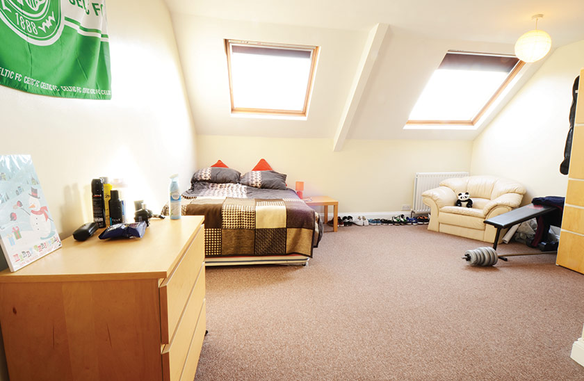 Fantastic student accomodation Cardigan Terrace in Newcastle