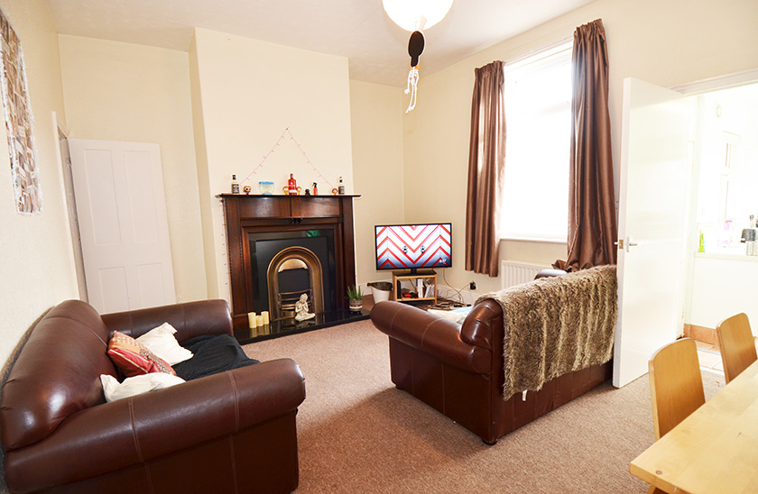 Affordable student accommodation Cartington Terrace in Jesmond, Newcastle upon Tyne