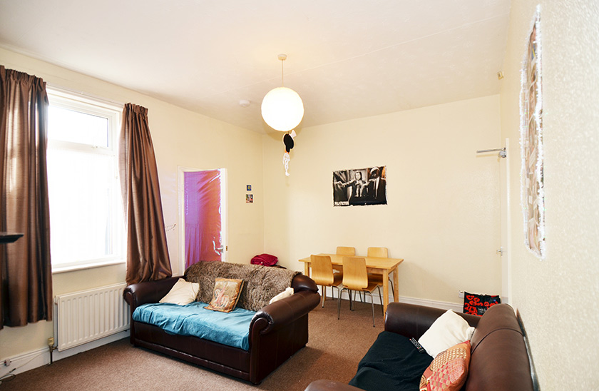 Affordable student accommodation Cartington Terrace in Newcastle