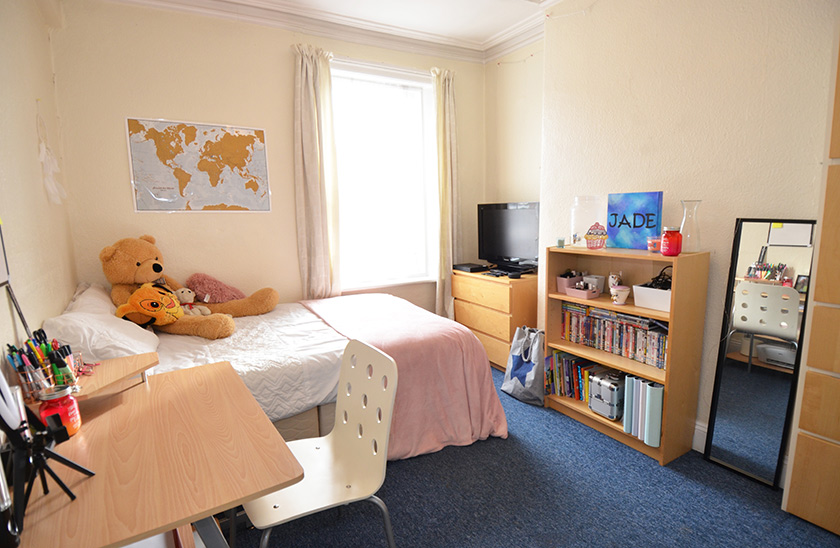 Affordable student accommodation Meldon Terrace in Jesmond, Newcastle upon Tyne